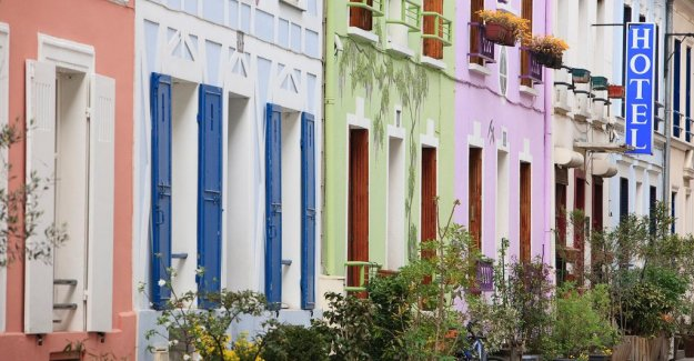 Accommodation in Paris want to have gates to shut out the Instagram-influerare