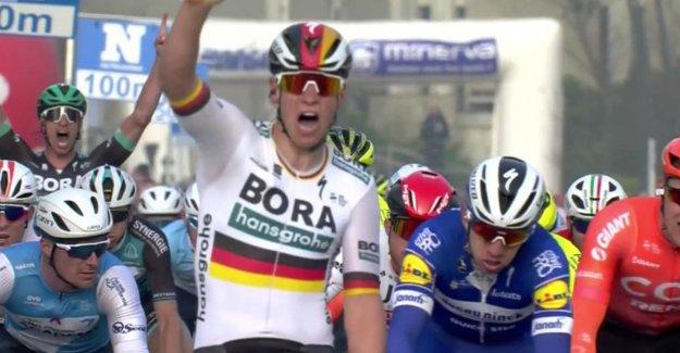 Ackermann sprint to victory in Bredene-Koksijde Classic