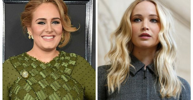 Adele and Jennifer Lawrence chase: also of these celebs no one had expected that they BFF's are