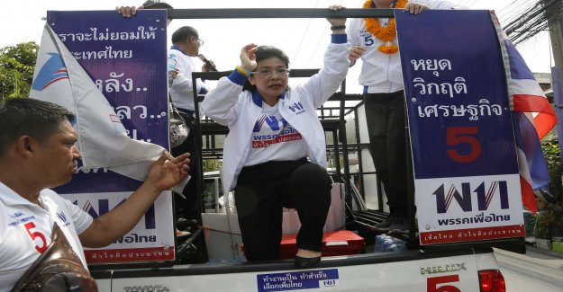 Advantage the military when Thailand goes to the polls