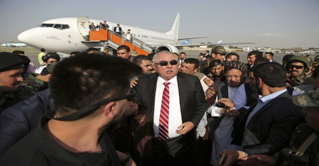 Afghanistan's vice president survived the attack