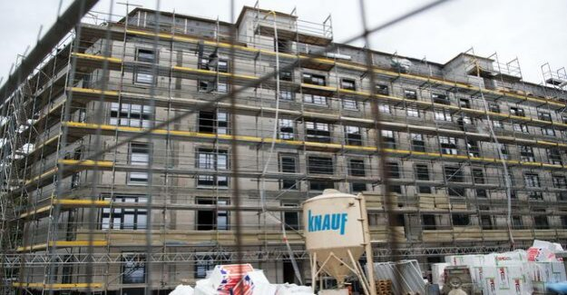 Again, less approvals : housing construction in Berlin is expanding