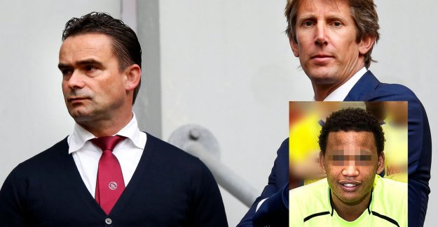 Ajax-directors Van der Sar and Overmars months and months of being stalked and threatened by a crazy real estate agent: I come to you sooner or later against on the street