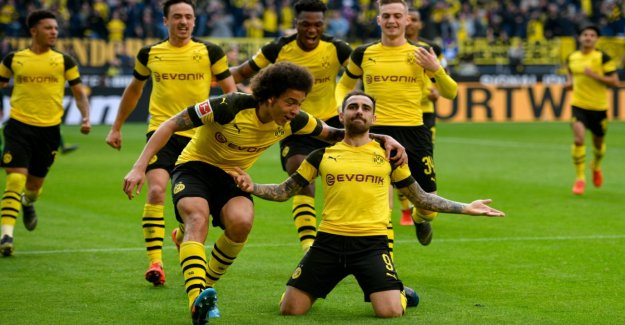 Alcácer balanced the BVB to the top of the table