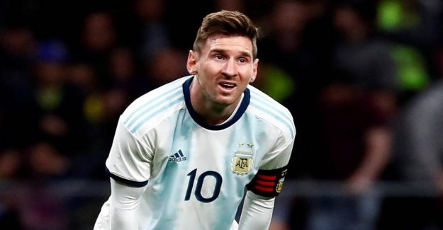 Angry Messi: It goes beyond my son