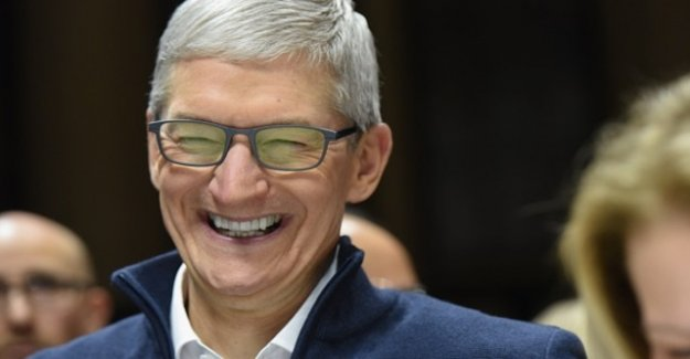 Apple joins Microsoft from the stock exchanges-the throne