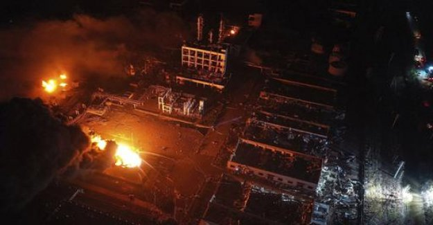 At least 44 Dead in Explosion at Chinese chemical plant