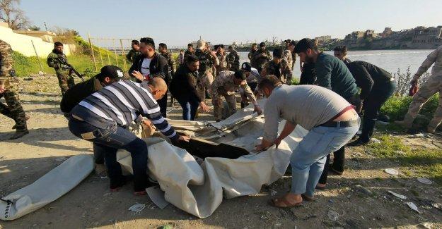 At least 83 dead in färjekatastrof in Iraq
