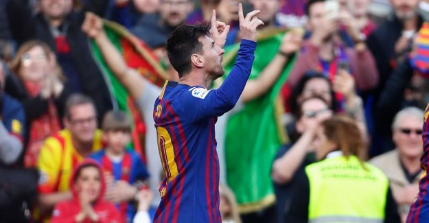 Barcelona has no great afternoon needed to Espanyol to beat, Messi takes the goals for you.