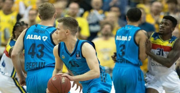 Basketball Eurocup : Alba Berlin want over the Pyrenees to the final