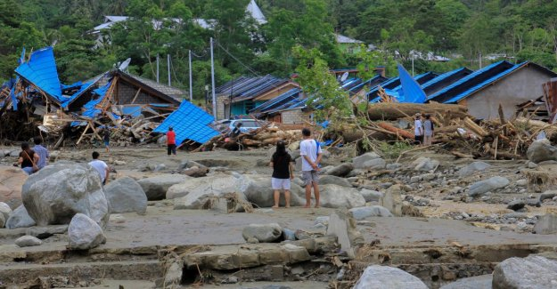 Been at least 92 deaths due to severe weather events in Indonesia