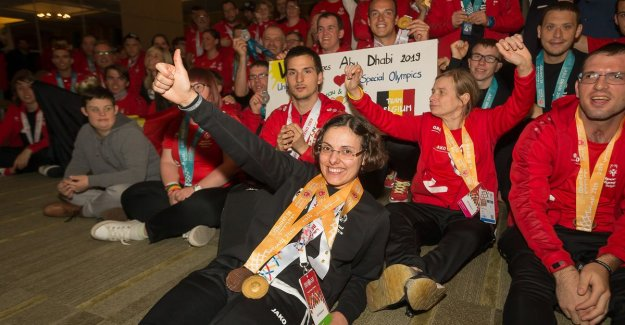 Belgian delegation returns with 67 medals back from the Special Olympics