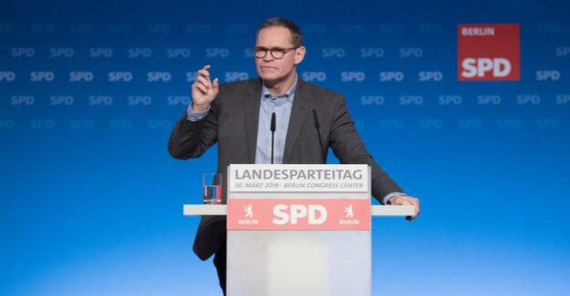 Berlin SPD party Congress : Müller: We must not take the easy, populist way