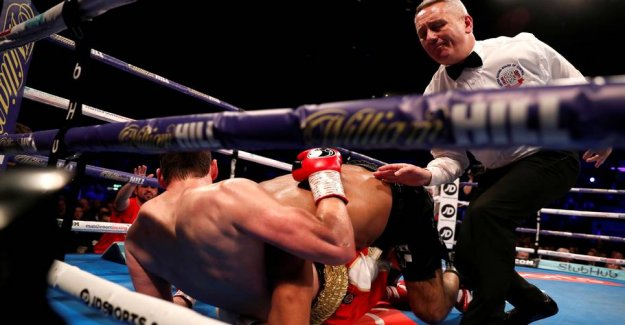 Big scandal: Tyson-bite switch boksebrag