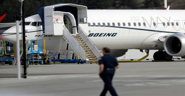 Boeing managers have to take the column in Washington