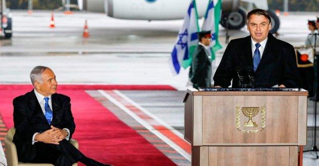 Bolsonaro is believed to break the promise of ambassadflytt