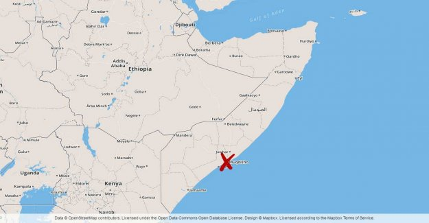 Bomb attack against the government building in Somalia