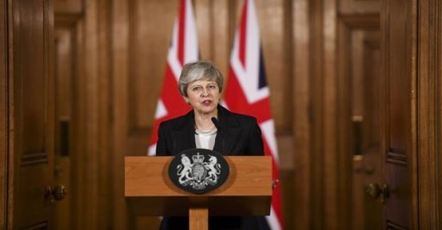 Brexit-delay: May are house of the Black Peter