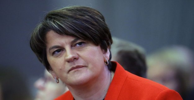 Britain's future is determined by ten members from the northern Ireland