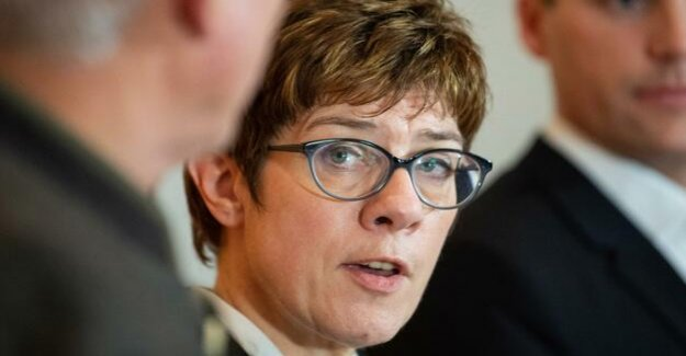 CDU-Chairman : Kramp-Karrenbauer prematurely after the Chancellery?