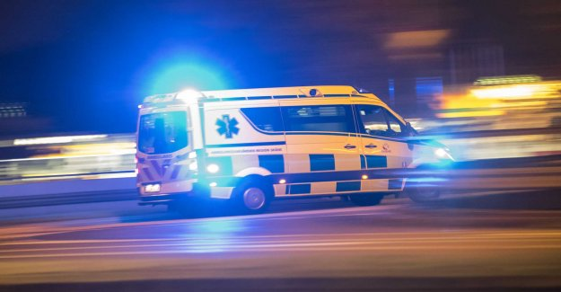 CPR-rescue could not be carried out in the ambulance
