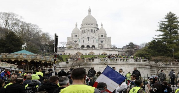 Calmer protestdag in France after the clampdown