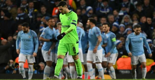 Champions League : 0:7: Schalke falls apart in Manchester
