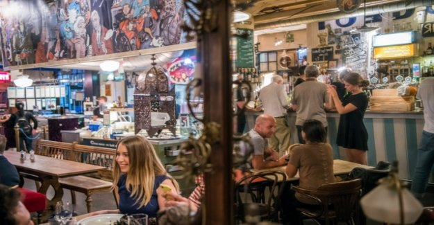 Change in the restaurant scene, Les Halles
