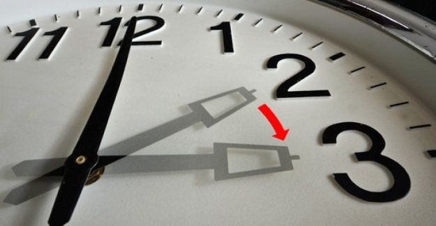 Changeover to summer time: The lost hour