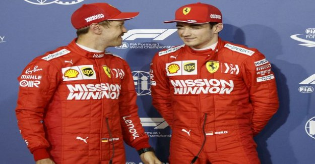 Charles Leclerc can cause ferrari to the worst problem, Jyrki lake grove noted a clear difference in the team between drivers - How the political situation goes