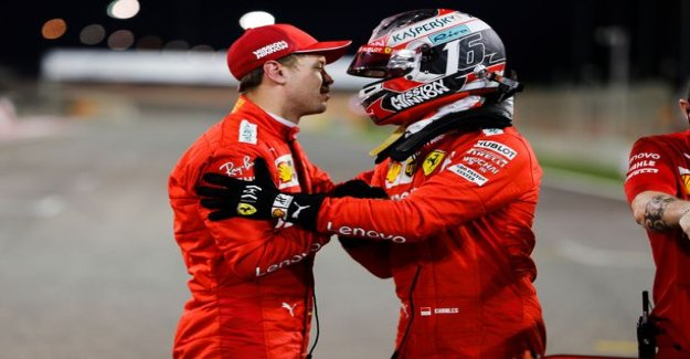 Charles Leclerc clubbed Sebastian Vettel - this Ferrari-boss comment on a delicate situation