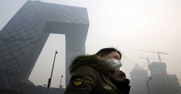 China: the Air has become less polluted