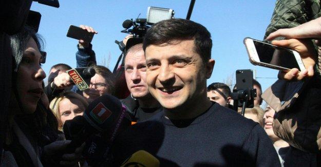 Comedian Selenski, the clear leader in presidential election in Ukraine