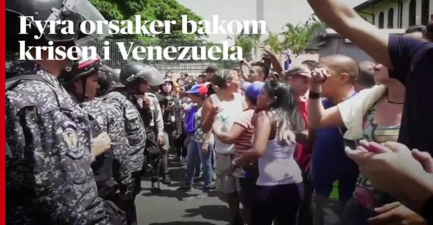 Conspiracy theories spread in the vattenbristens Venezuela