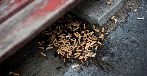 DN Opinion. Height cigarettskatt can reduce the litter