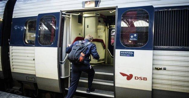 DSB hit by major delays