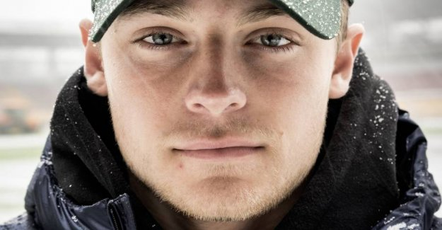 Danish Mathias spoke of himself: I must think me