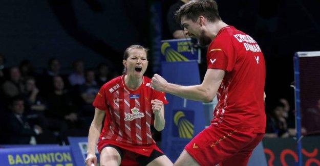 Danish badmintonstjerne advance in afskedsturnering