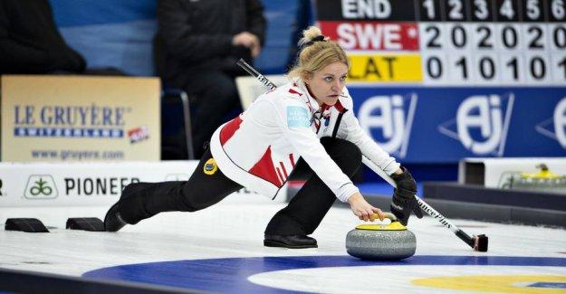 Danish curlingkvinder loses last WORLD cup match in Silkeborg