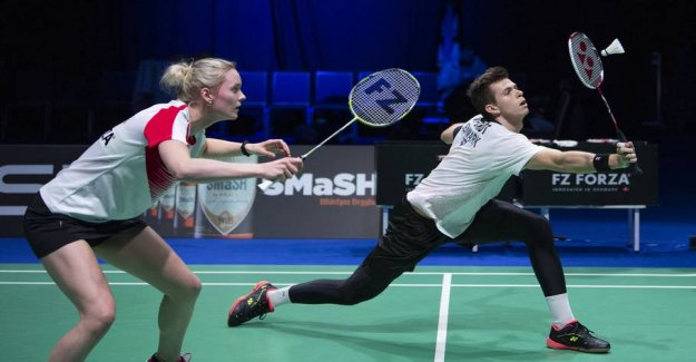 Danish mixed doubles triumph in the final of the Swiss Open