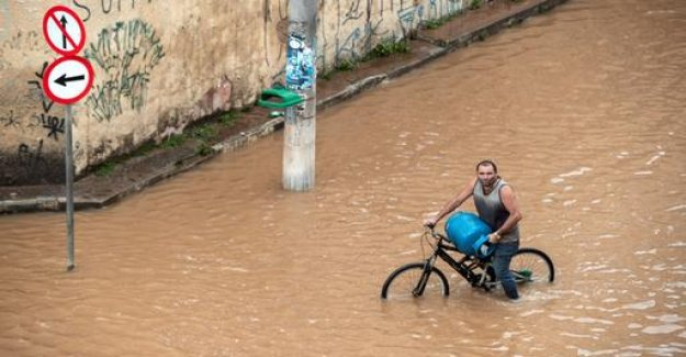 Dead after heavy storms in Brazil