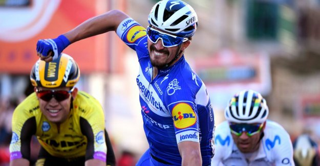 Deceuninck-Quick.Step above in La Primavera: Alaphilippe wins Milan-Sanremo, Naesen second
