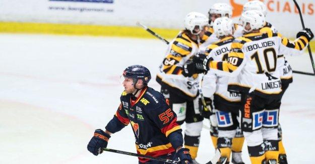 Djurgården lost the first quarter final against Skellefteå