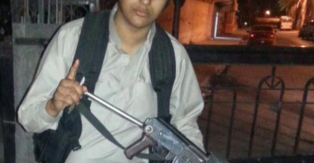 Doodverklaarde Antwerp Syriëstrijder that threatened attacks in Belgium, it appears very much alive