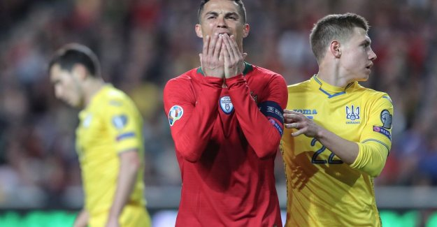 EK-QUALIFICATION. Ronaldo breaks the teeth on Ukraine - Pogba shows with magnificent assist the right way - Sterling chops with hattrick Czechs in the pan