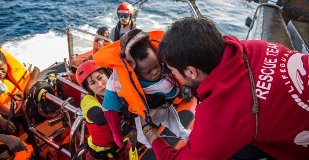 EU almost is 730,000 refugees from the Mediterranean Sea is saved since 2015