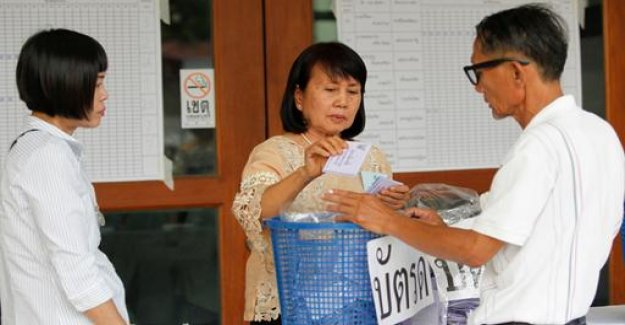 Election in Thailand: military allegiance to be prior to the Opposition