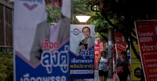 Elections in Thailand: Key management for the military junta, when the first figures are presented