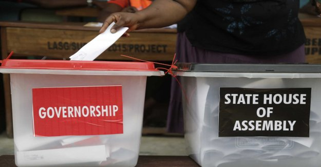Elections in six states in Nigeria is done if the