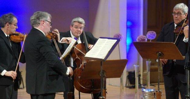 Emerson String Quartet : refinement in a high position